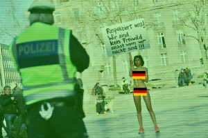 German Protest